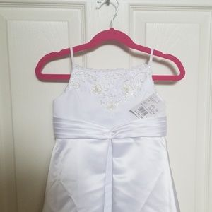 Davids bridal mini bride dress